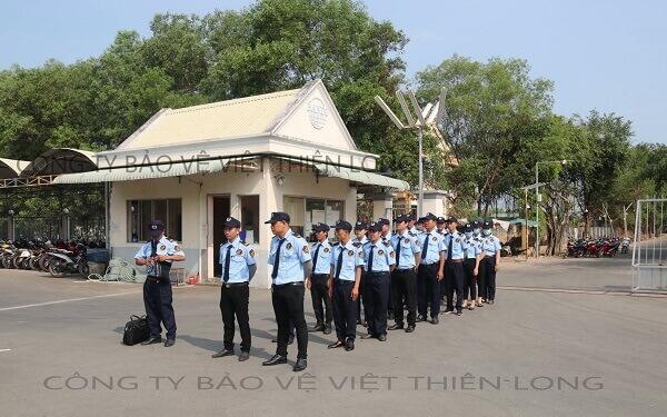 Công ty bảo vệ Bình Dương uy tín –Việt Thiên Long