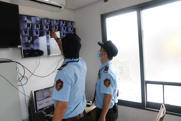 Trung tâm giám sát hệ thống camera của bảo vệ Việt Thiên Long