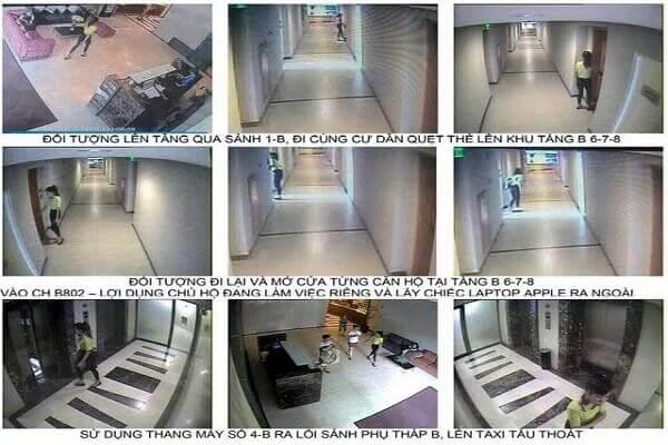 Hìnhảnh trích xuất camera đối tượng trộm cắp