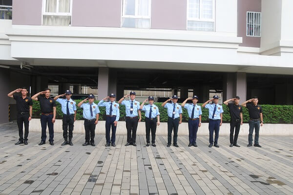 ViệtThiên Long đảm bảo đội ngũ bảo vệ tòa nhà chuyên nghiệp