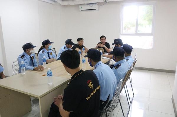 Việt Thiên Long: Huấn luyện nghiệp vụ bảo vệ chuyên nghiệp 2
