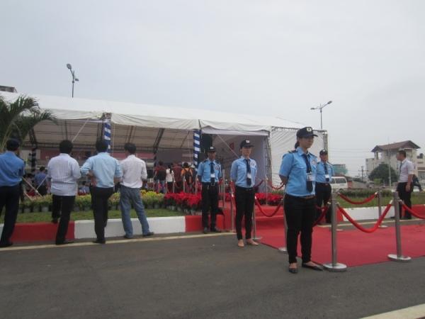 Dịch vụ bảo vệ chuyên nghiệp tại khu công nghiệp Vĩnh Lộc